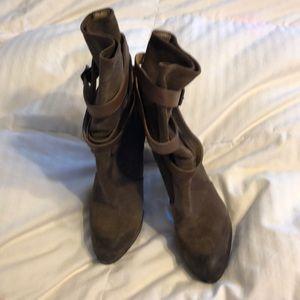 Frye Harlow multi strap booties